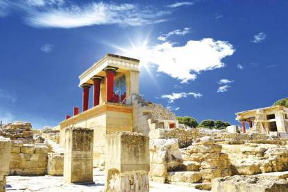 Knossos Palace , learn about Europe's first civilization the Minoans